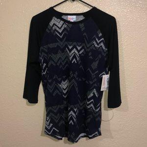 Lularoe 3/4 randy shirt NWT
